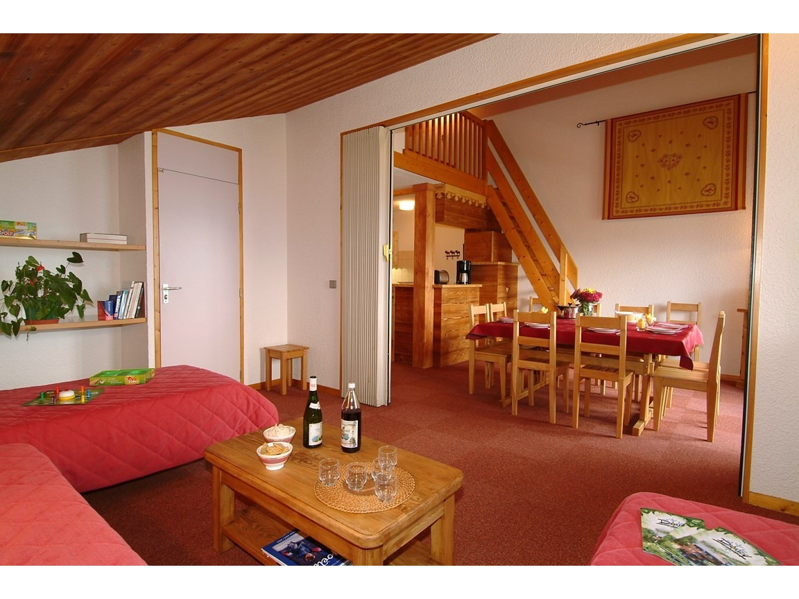 Le Beauregard 4 pièces 10 lits / 4 rooms 10 beds DOUCY TARENTAISE