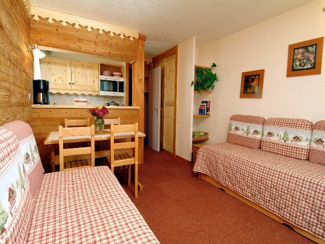 Le Beauregard 2 pièces 5 lits/2 rooms 5 beds DOUCY TARENTAISE